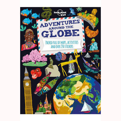 adventures around the globe, lonely planet kids front cover