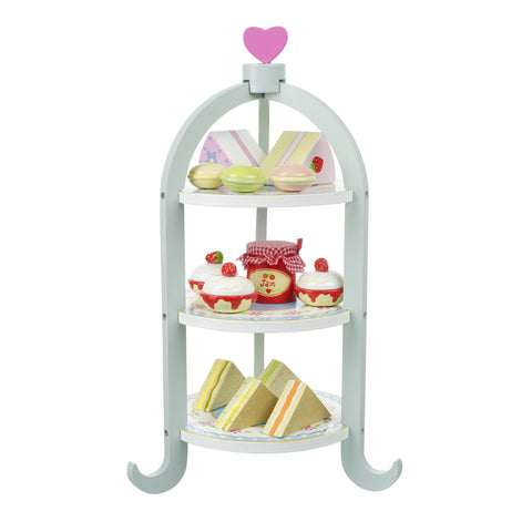 Afternoon Tea Set - Wooden Play Food