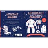 Astronaut academy front and back