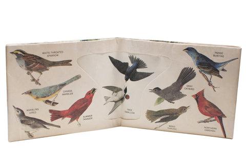 Audubon Birds Sonic Wallet open