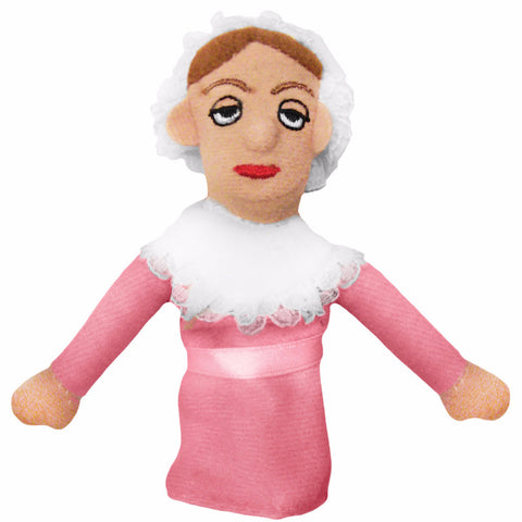 White background Jane Austin finger puppet