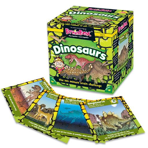 Brain Box - Dinosaurs, box and sample cards