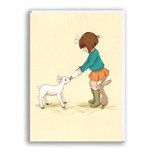Lamb  - Belle & Boo Greeting Card