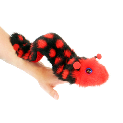Wigglers - Bramley Puppet caterpillar on arm