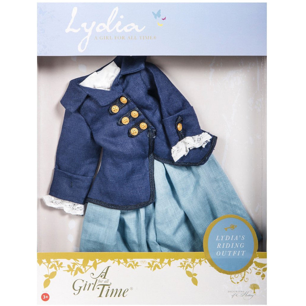 A Girl for All Time - Lydia's Riding Outfit boxed