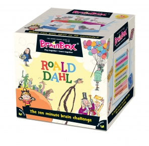 Brainbox Roald Dahl front of box, slight angle