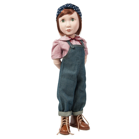 A Girl for All Time - Clementine's Land Girl Outfit on doll