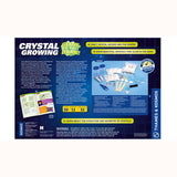 Crystal Growing Glow In the Dark Experiment Kit, back of box