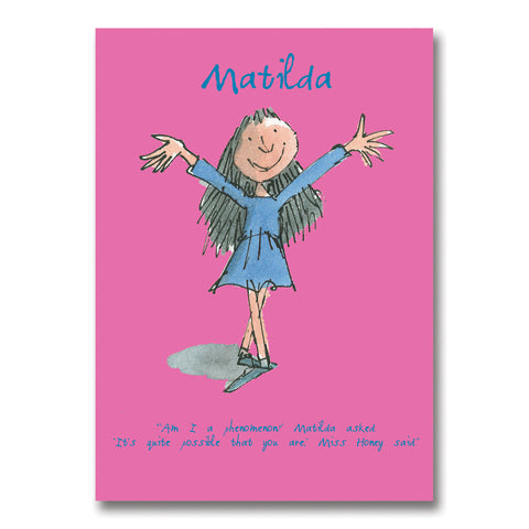 Roald Dahl - Matilda Exercise book A5