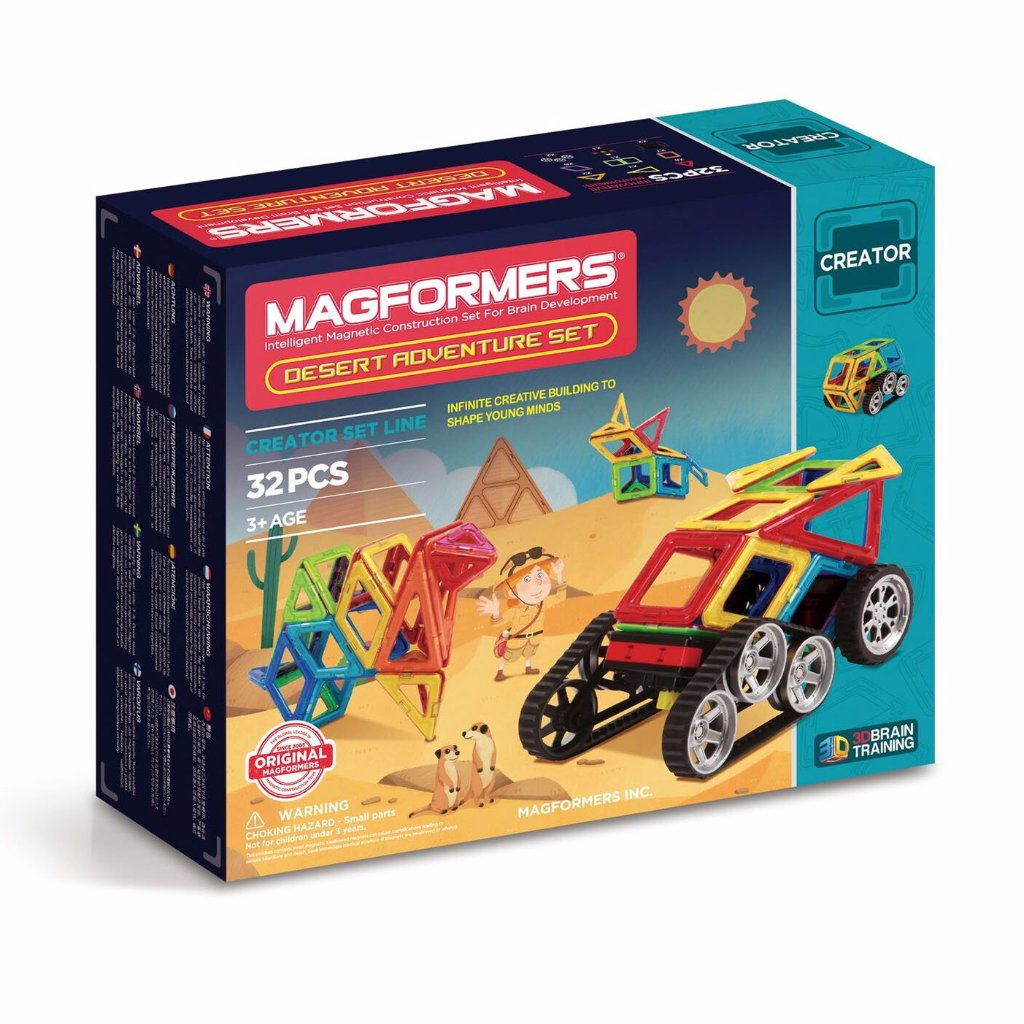 Magformers Adventure Desert Set, boxed