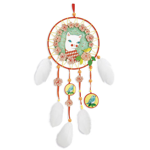 DIY Dream Catcher - Arle Cat, finished