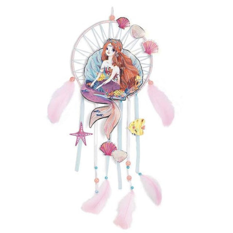 DIY Dream Catcher - Gentle Mermaid, complete