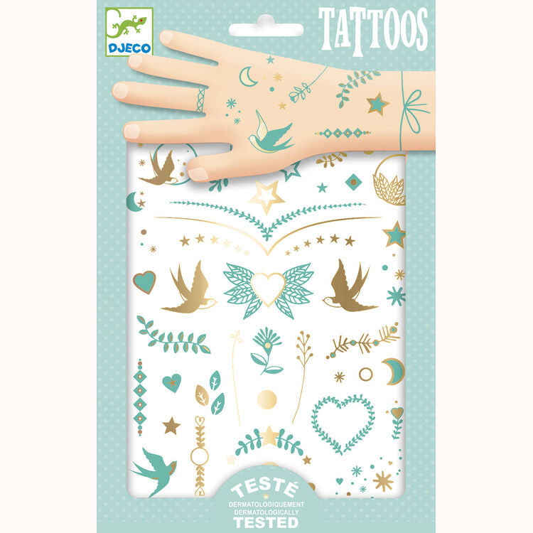 Lily's Jewels - Tattoos by Djeco, front of pack
