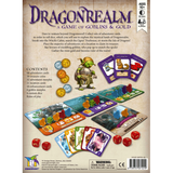 Dragonrealm - a Game of Goblins & Gold, back of box