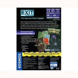 EXIT The Game - The Haunted Roller Coaster, back of box