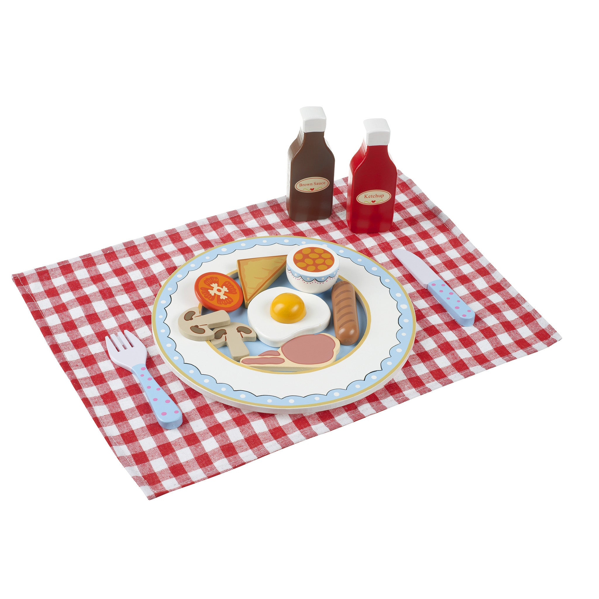 English Breakfast Set - Wooden Play Food