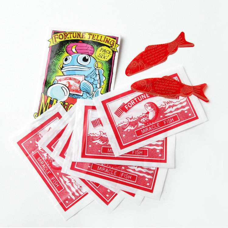 Fortune Telling Fish Set of 6