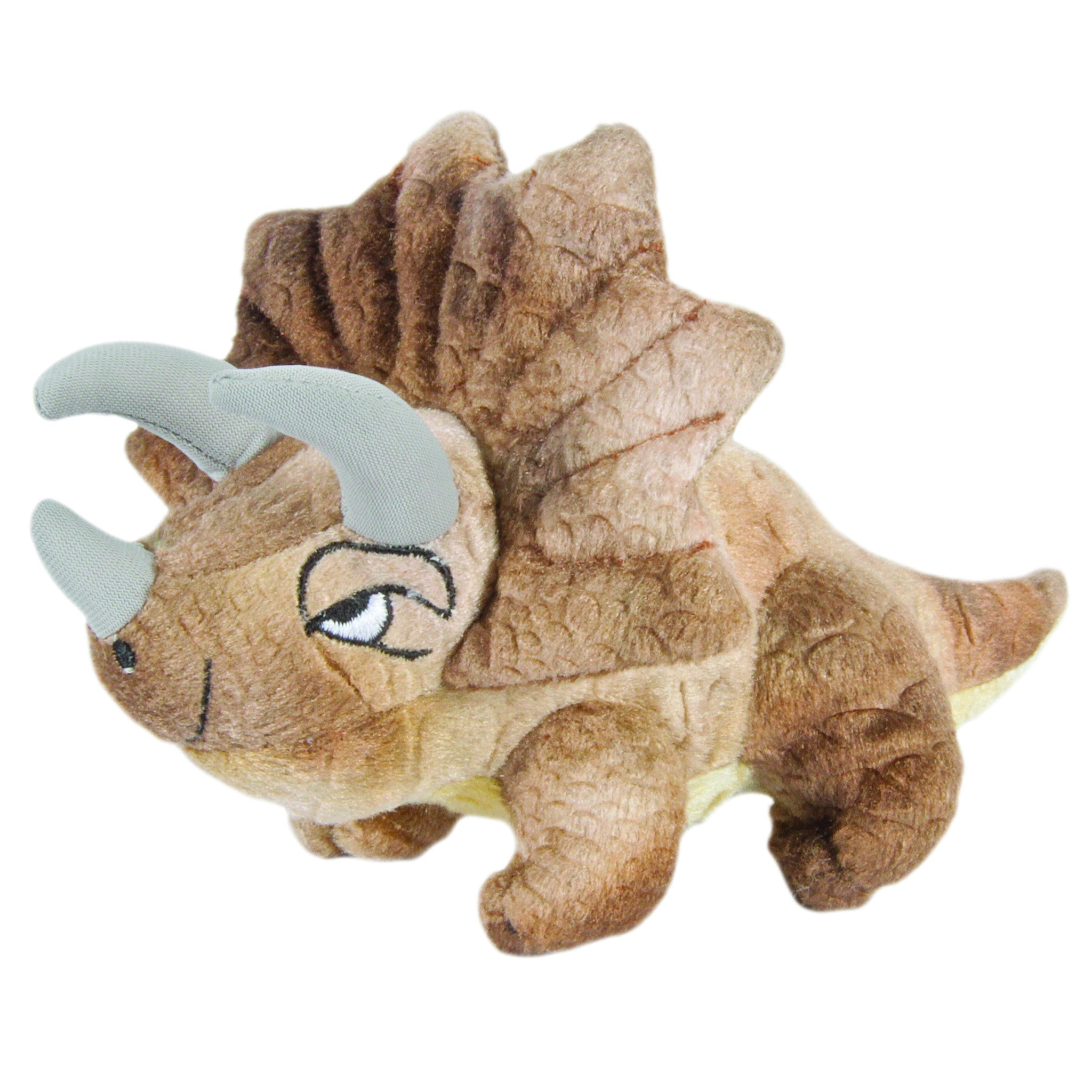 Triceratops Finger Puppet