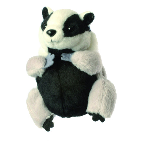 Badger Finger Puppet