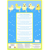 Favourite Song Mitt - Five Little Ducks song sheet