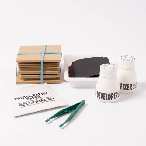 Pinhole Photography Creative Kit, contents displayed
