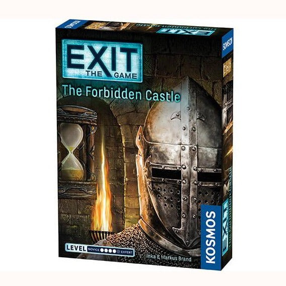 Exit Game the forbidden castle, front of box