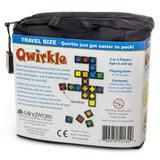 Qwirkle - Travel Size, back of packaging