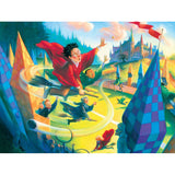 Harry Potter Jigsaw - Quidditch, illustration