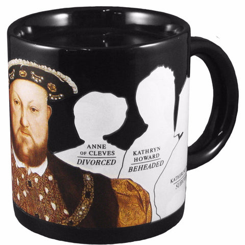 Henry VIII and his disappearing wives - Mug