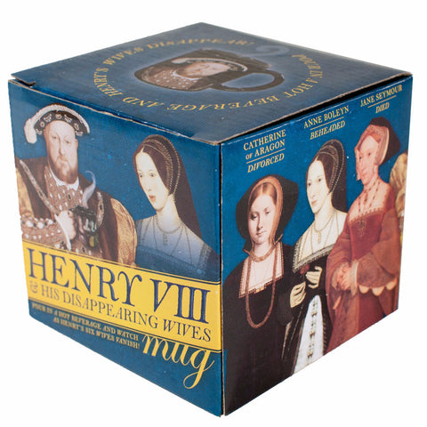 Henry VIII and his disappearing wives - Mug boxed