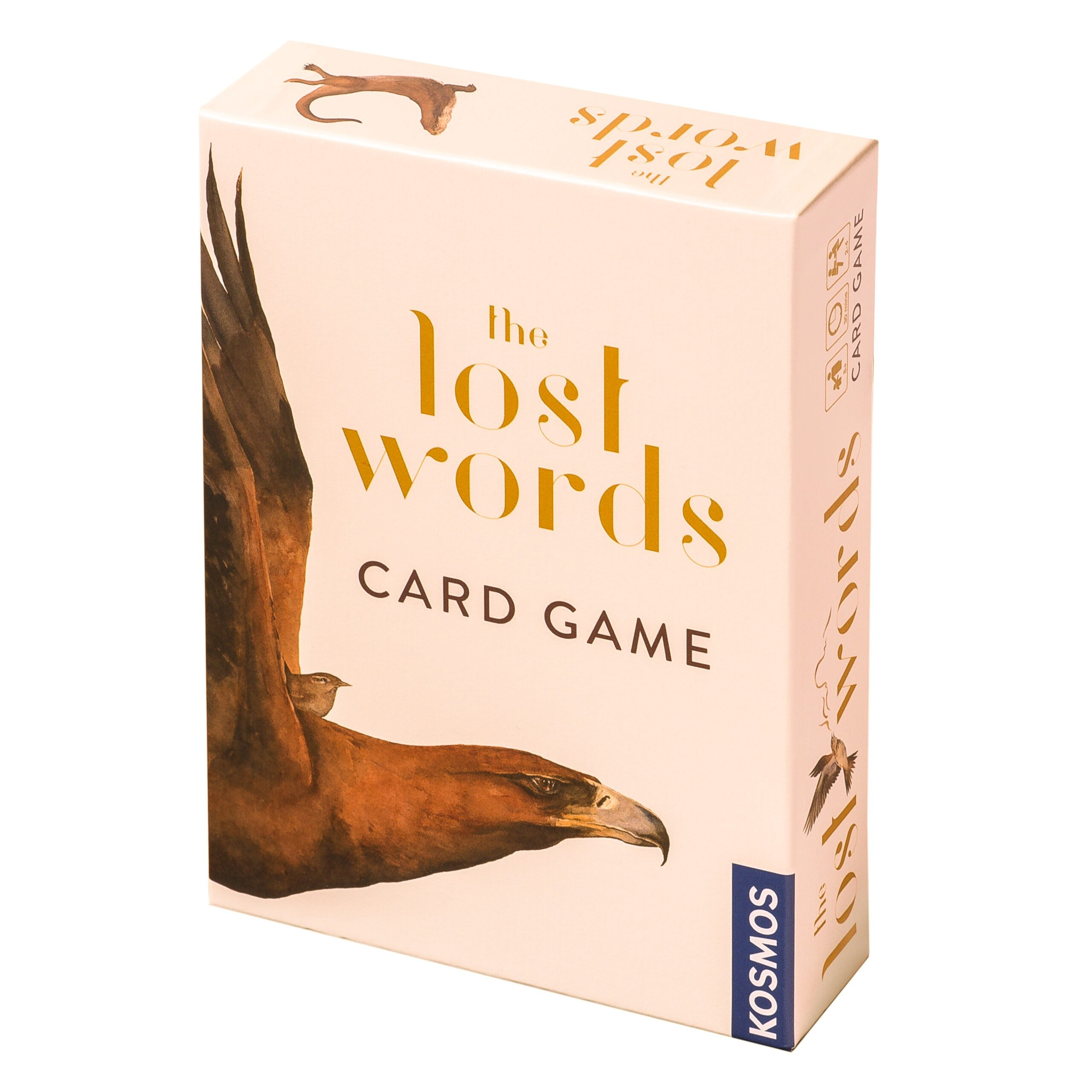 The Lost Words - Card Game, front of box