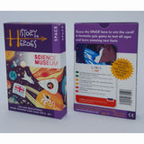 History Heroes - Space, front and back of box