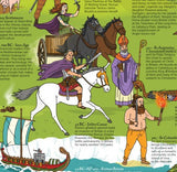 Wallbook Timeline of British History - What On Earth. 54BC Julius Caesar detail