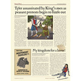 Wallbook Timeline of British History - What On Earth, newspaper article detail Tyler