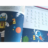 Professor Astro Cat's Intergalactic Activity Book, inside page
