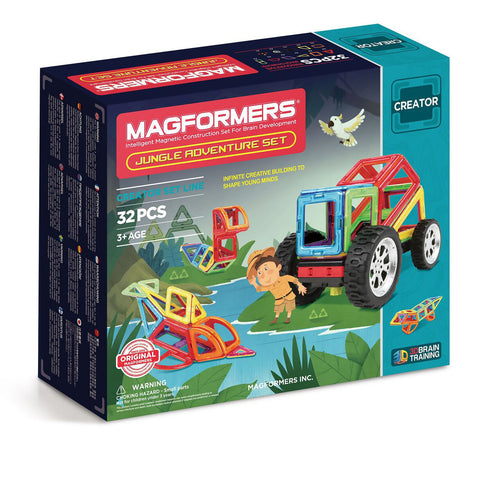Magformers Adventure Jungle Set, boxed