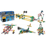 K'nex 35 Model Ultimate Building Set, box and example models
