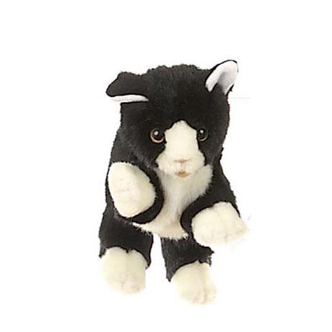 Black and White Cat Hand Puppet