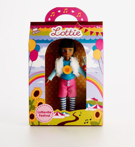 Branksea Festival Lottie Doll, packaged