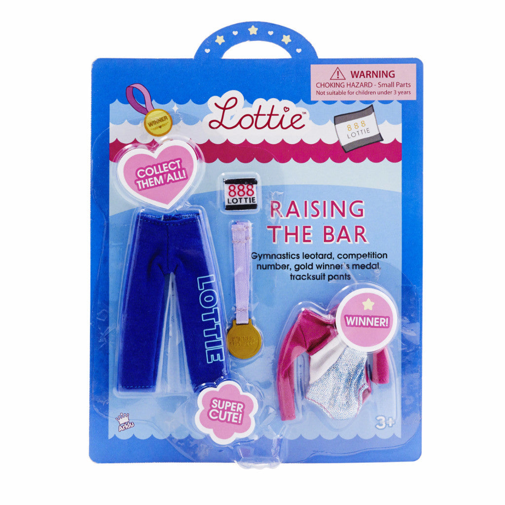 Raising The Bar - Lottie Doll Accessory Set
