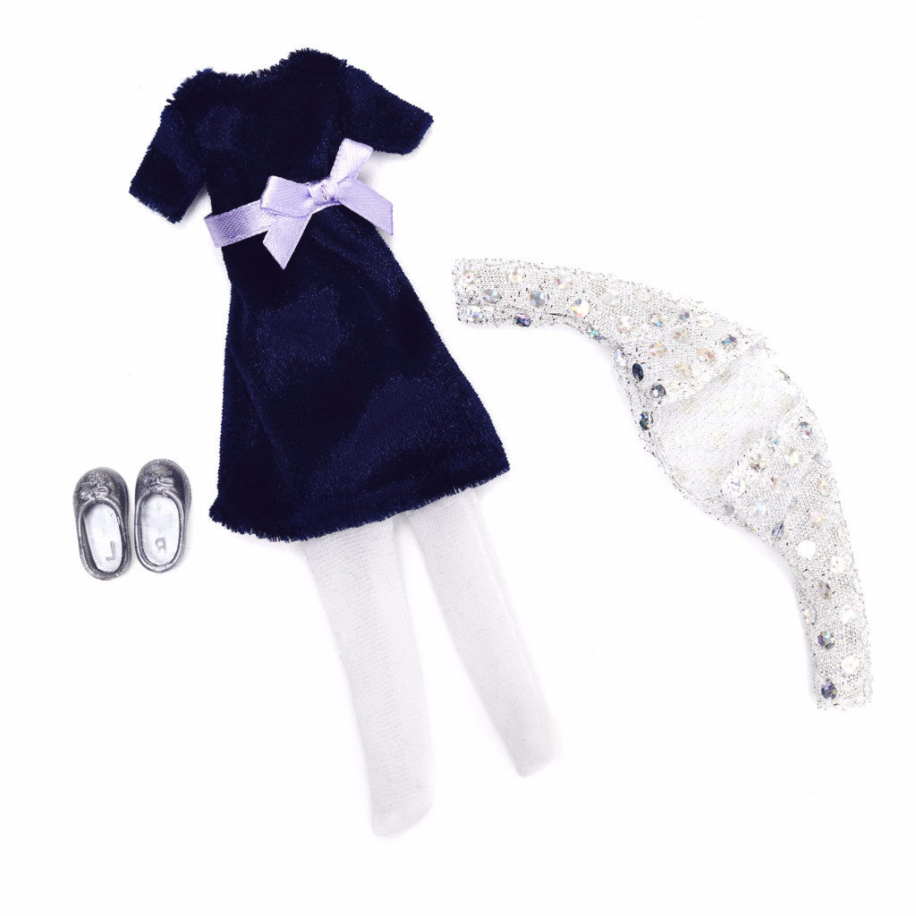 Blue Velvet - Lottie Doll Accessory Set