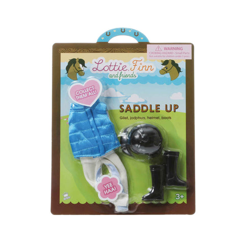 Saddle Up - Lottie Accessory Set, in packaging