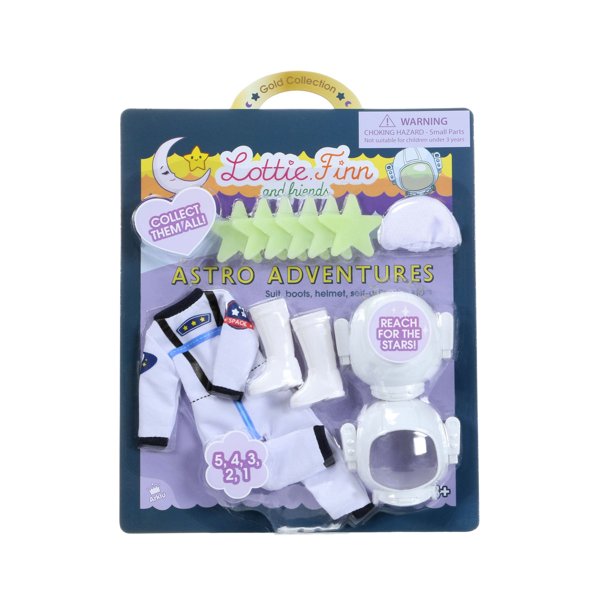Astro Adventures - Lottie Accessory Set - SLIGHTLY DAMAGED PACKAGING