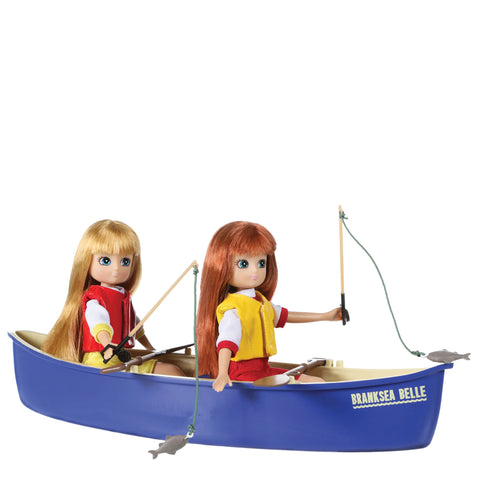 Brownie Canoe - Lottie Doll Accessory Set