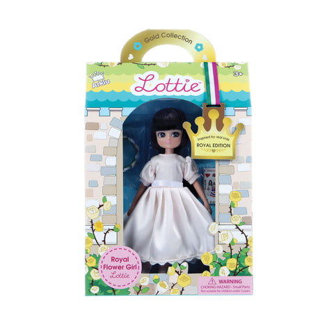 Royal flower girl Lottie in box