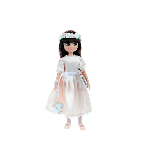Royal flower girl Lottie, front on,  out of box