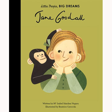 Jane Goodall - Little People, Big Dreams Picture Book, front cover