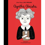 Agatha Christie, front cover, little people big dreams