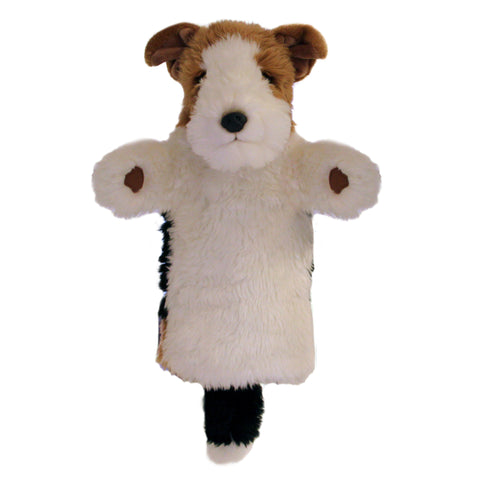 Fox Terrier Long-Sleeved Glove Puppet
