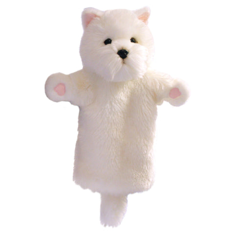 West Highland Terrier Long-Sleeved Glove Puppet